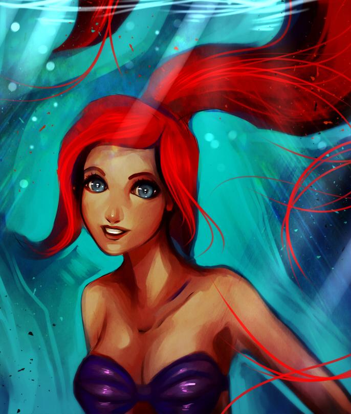 Ariel by ryky
