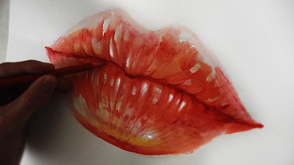 wip - Lips by ryky