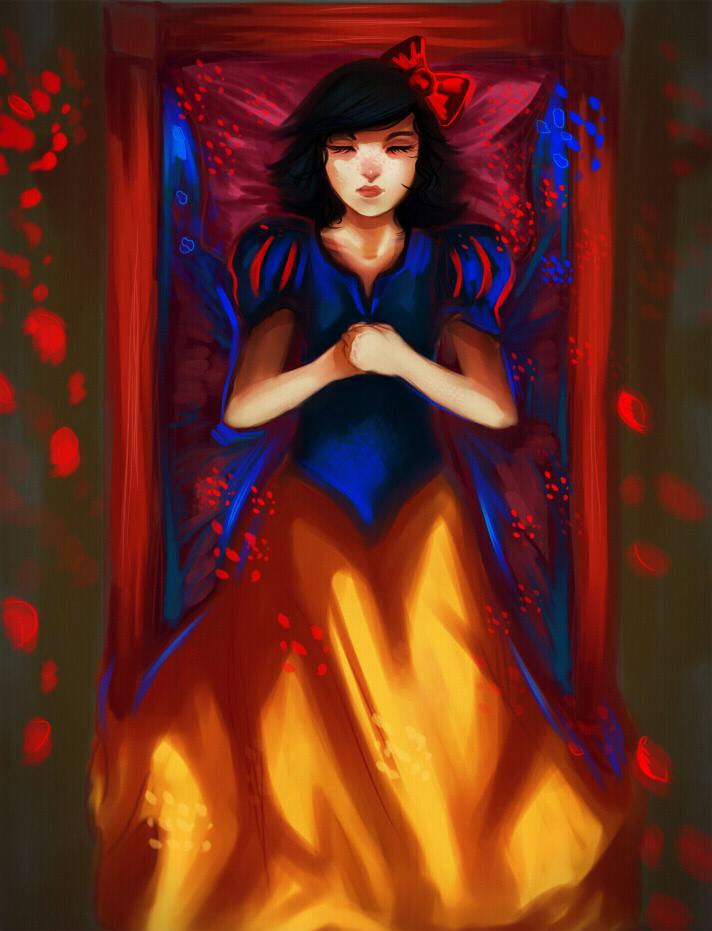 Good night Snow White by ryky