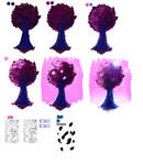 Easy tutorial - Pink Tree