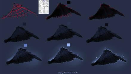 Easy Wings tutorial by ryky