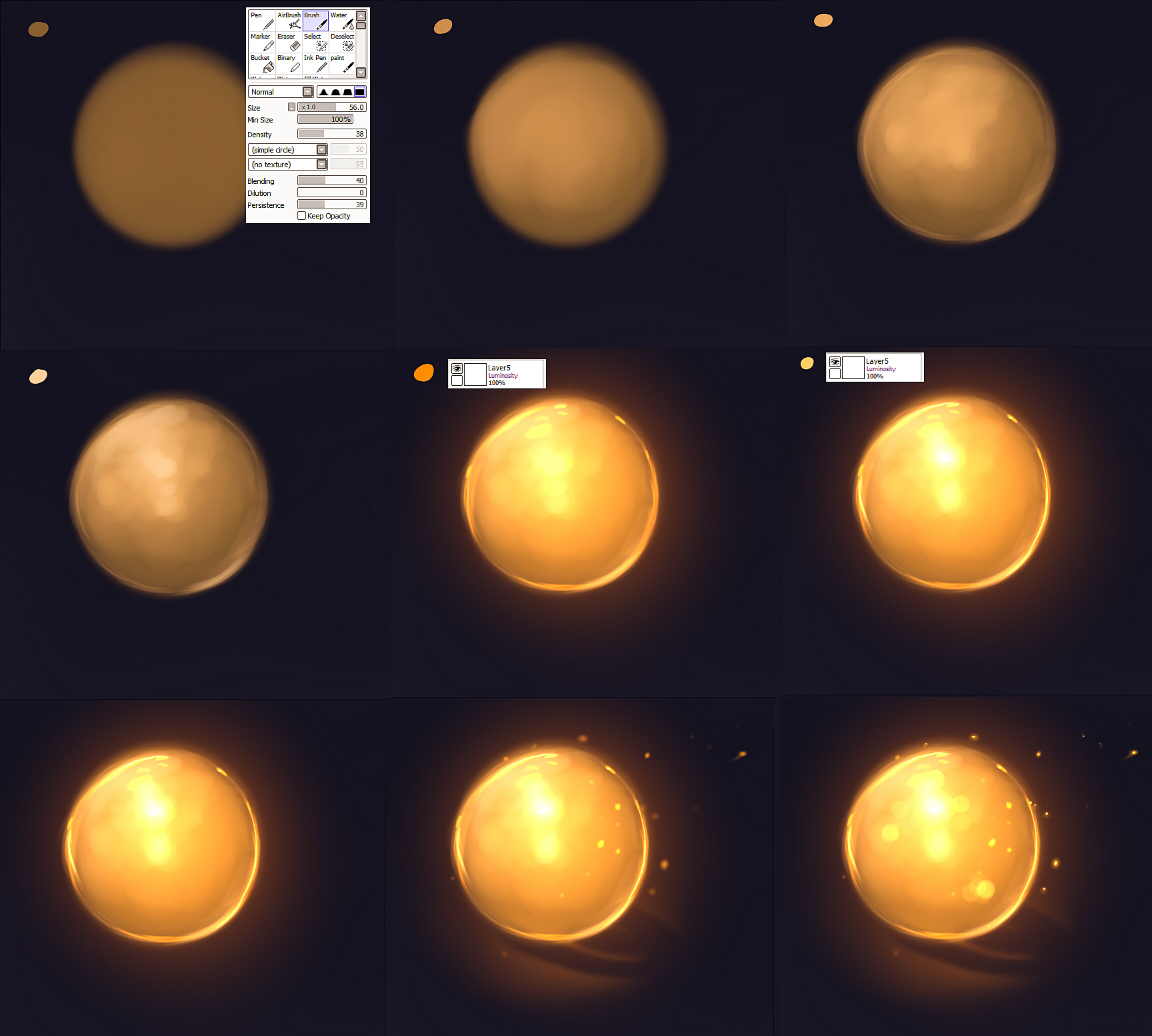 Light tutorial by ryky
