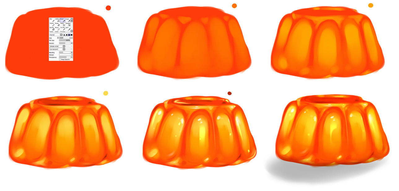Jelly step by step - tutorial by ryky
