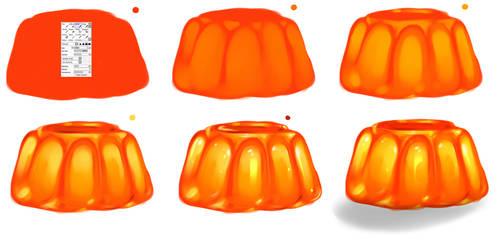Jelly step by step - tutorial by ryky