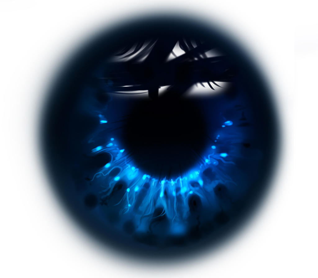 EYE iris  SPEEDPAINTING VIDEO by ryky