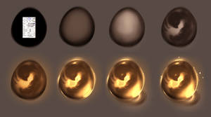 Magic egg step by step - tutorial