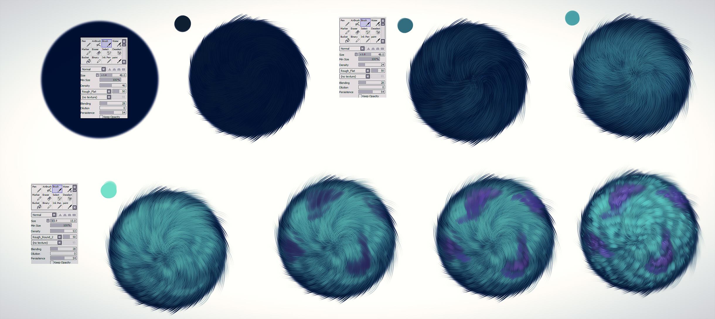 fur tutorial - James P. Sullivan by ryky