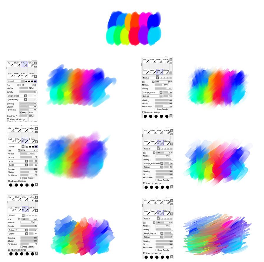 Paint Tool Sai Lighting Effects