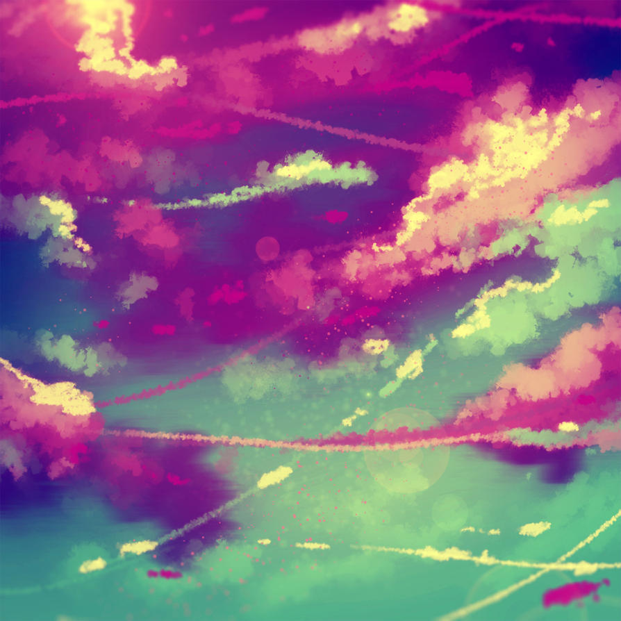 Clouds speedpainting VIDEO by ryky