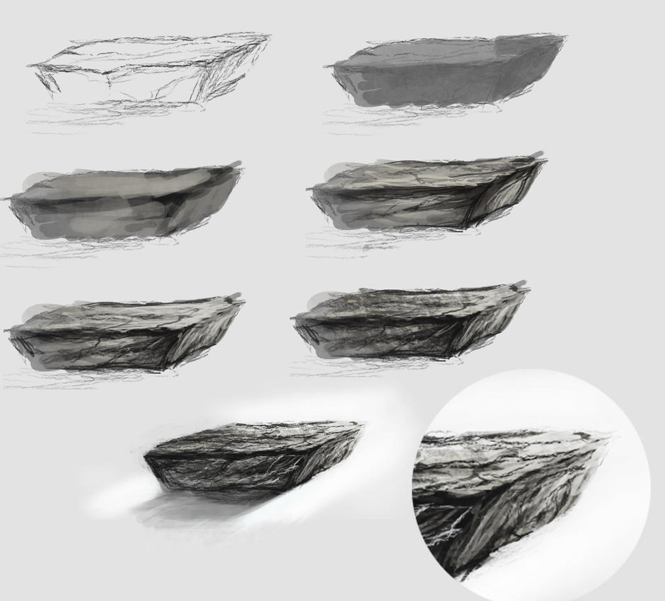 rock  tutorial by ryky