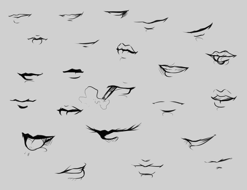 Mouth reference by ryky
