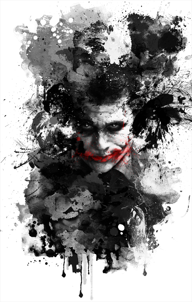 The joker by ryky on deviantart for Immagini joker hd