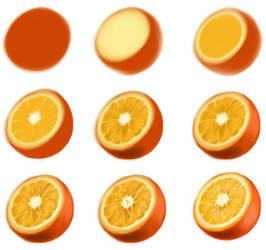 orange - step by step by ryky