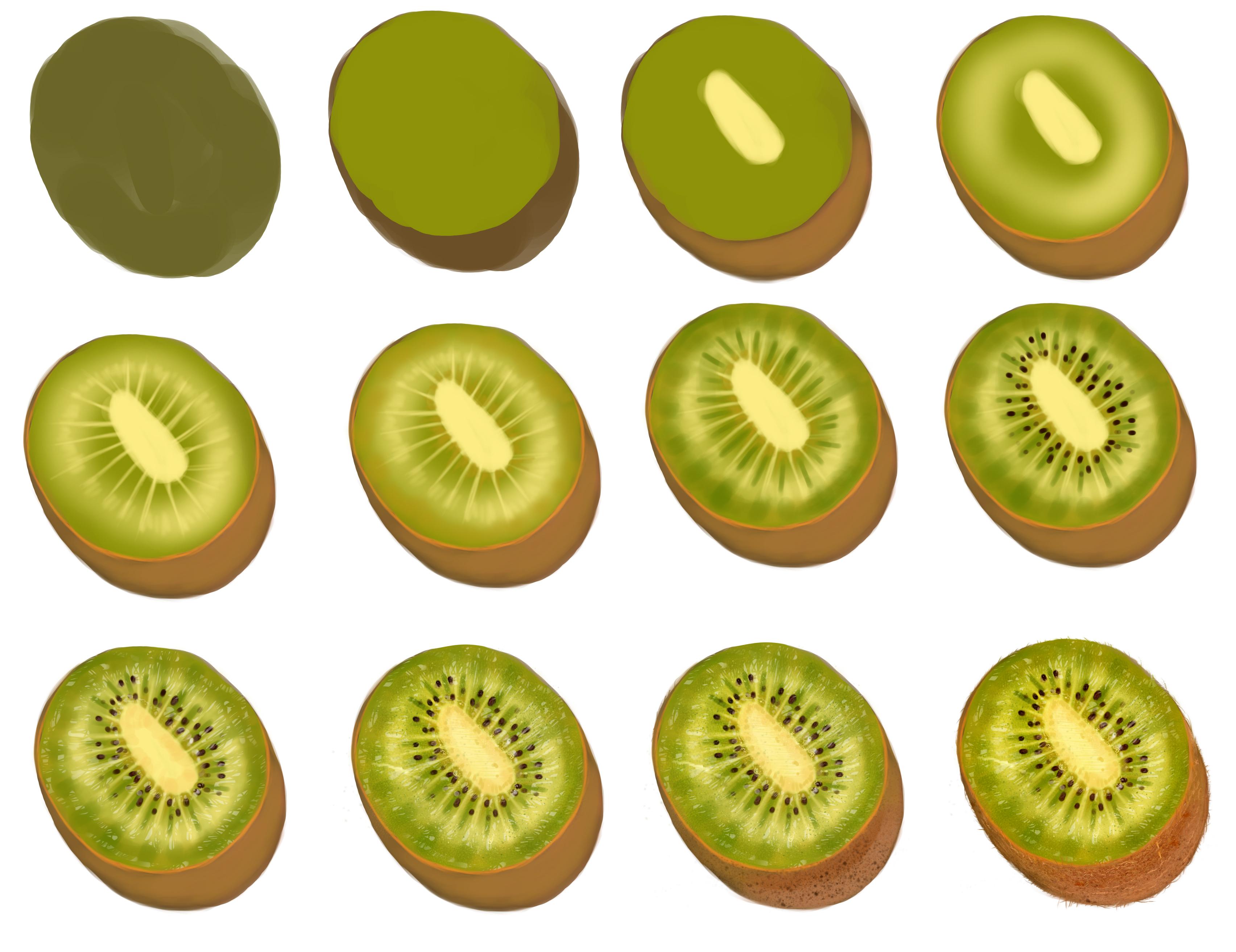 Kiwi -step by step