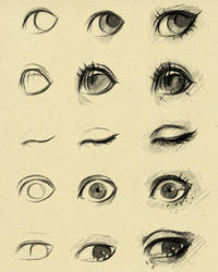 eyes reference 2 by ryky