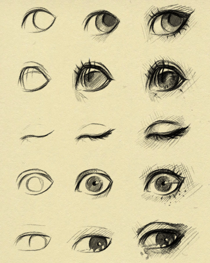 eyes reference 2 by ryky on DeviantArt