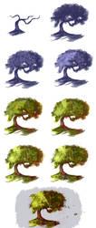 Tree - step by step by ryky