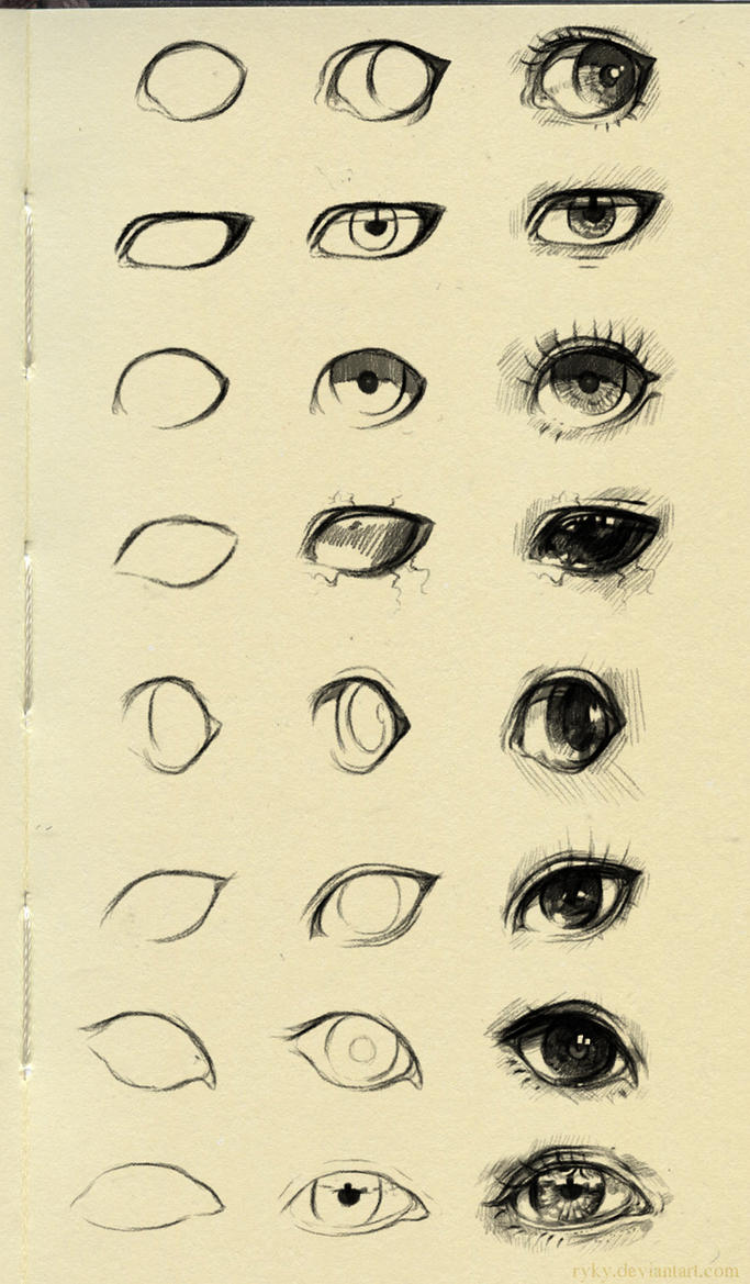 eyes reference 3 by ryky