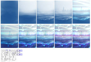 Waterscape step by step