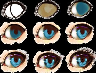 eye step by step by ryky