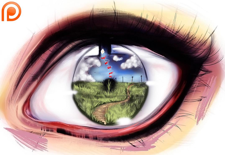 eye adventure  PSD by ryky
