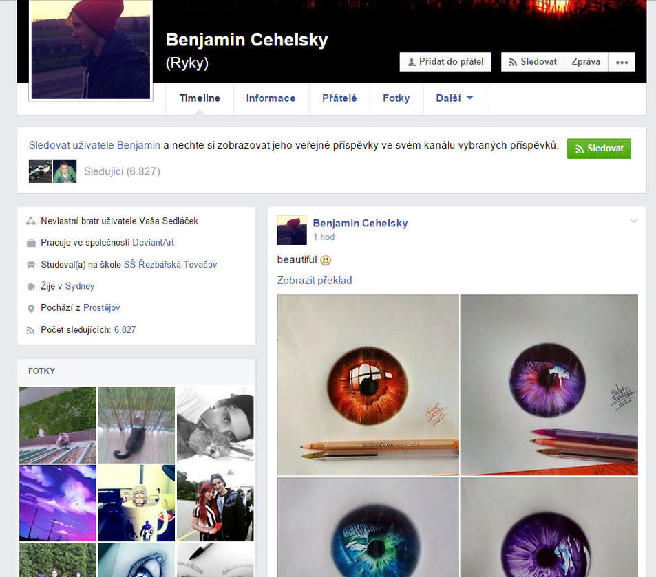 FOLLOW ME ON MY PERSONAL FACEBOOK (descriptions) by ryky