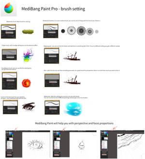 Medibang Paint(brush setting)