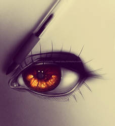 sorry guys, i was born for drawing eyes by ryky