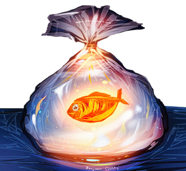 Make a wish ,  It's your fish by ryky