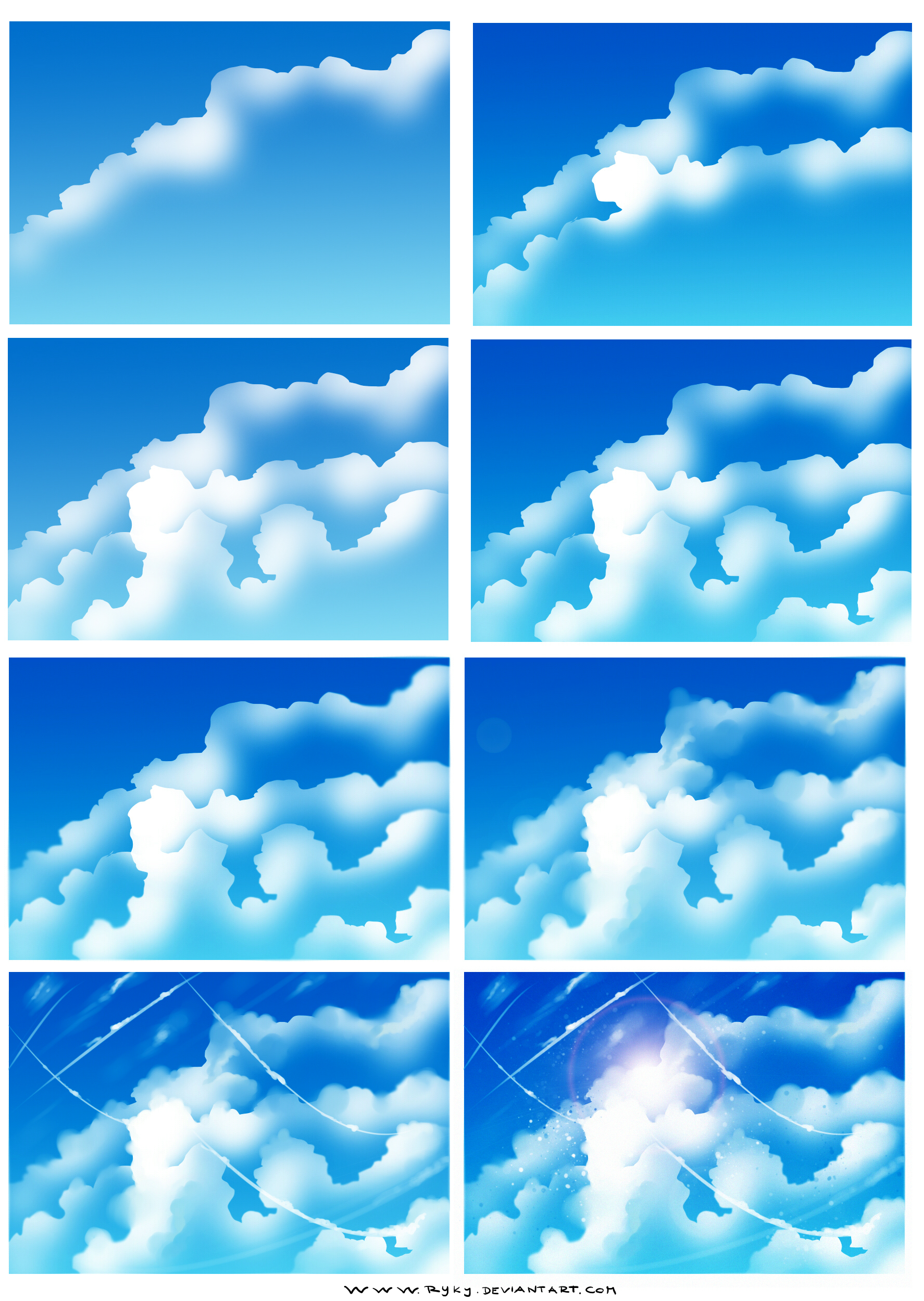 How To Make Photo Realistic Clouds In Paint Net
