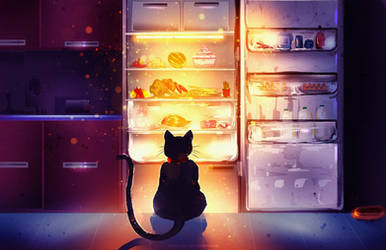 Everyone sleeps ...But I'm hungry!