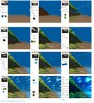 Scenery tutorial in MediBang Paint
