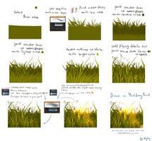 Very easy grass tutorial