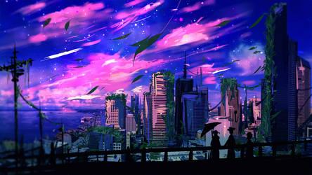 Night Sky by ryky