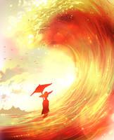 Sun wave by ryky