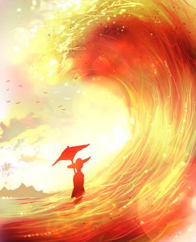 Sun wave
