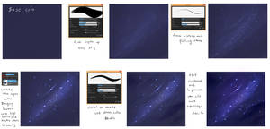 EASY - Night Sky  tutorial