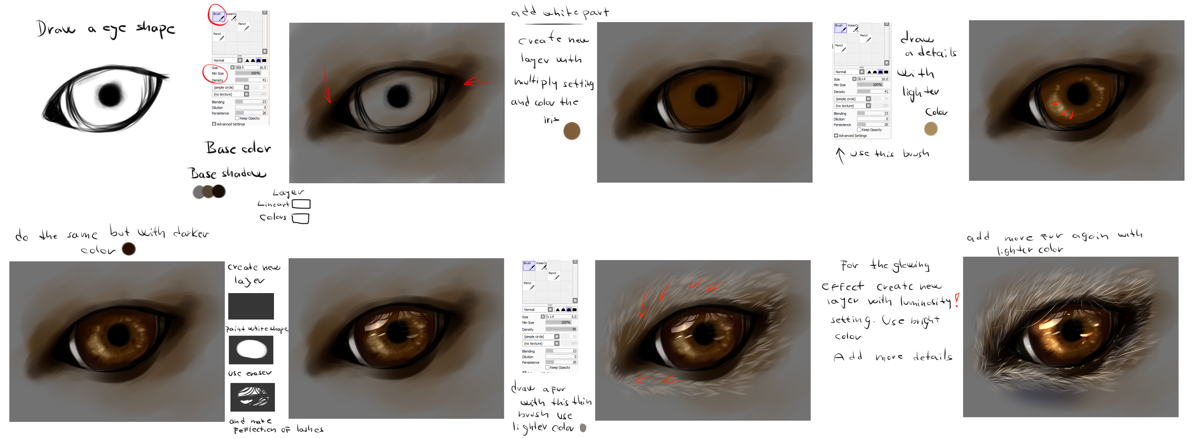 Easy wolf eye tutorial by ryky on deviantart easy wolf eye tutorial by ryky ccuart Image collections