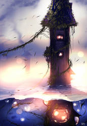 Tower of the Lost by ryky