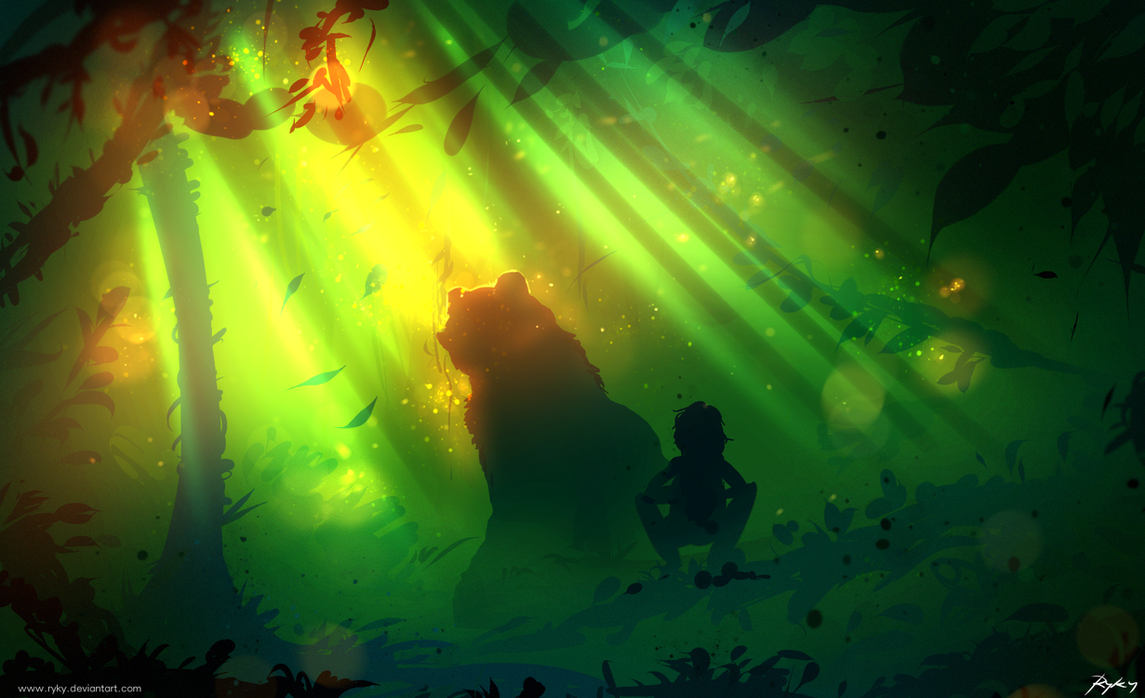 The Jungle Book by ryky