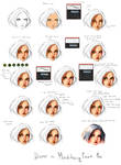 FACE - Coloring tutorial