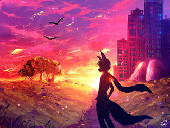 Sunrise by ryky