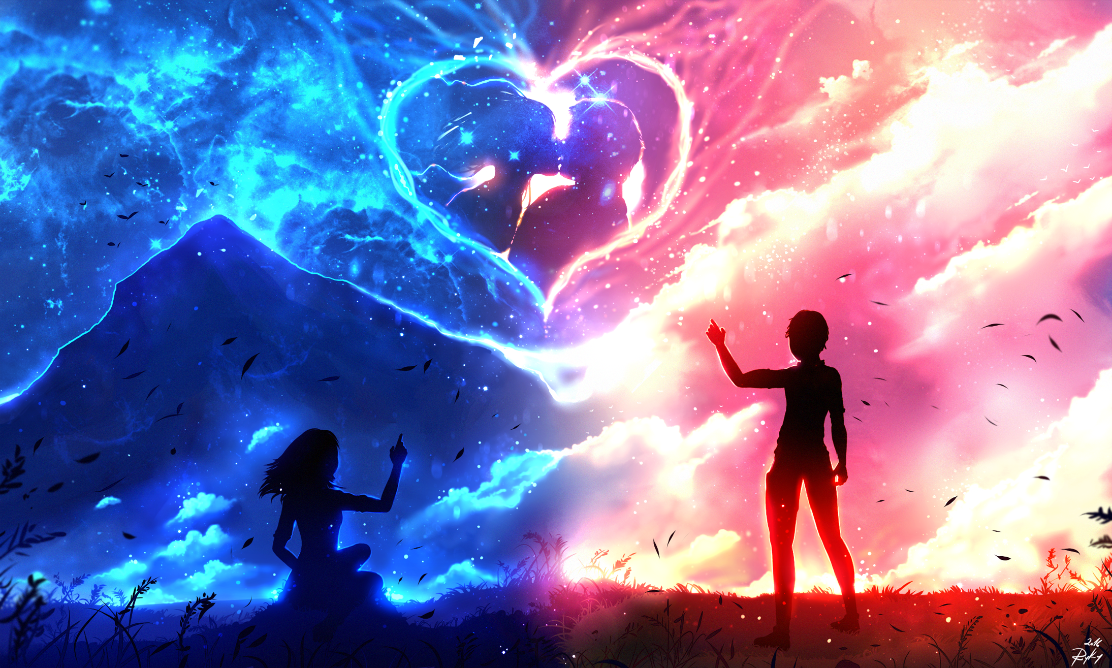 Anime Boy And Girl In Love Wallpaper : I m Always with You by ryky on DeviantArt
