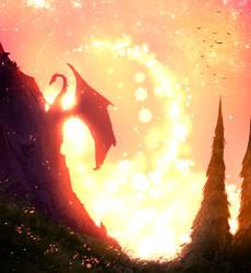 Dragon  by ryky