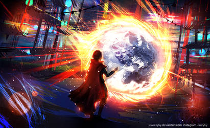 Doctor Strange by ryky