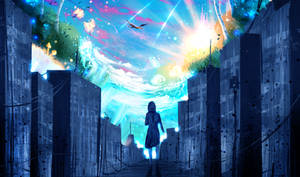 The Beautiful Mind by ryky