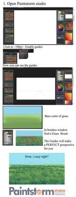 MOST EASY Grass tutorial ever
