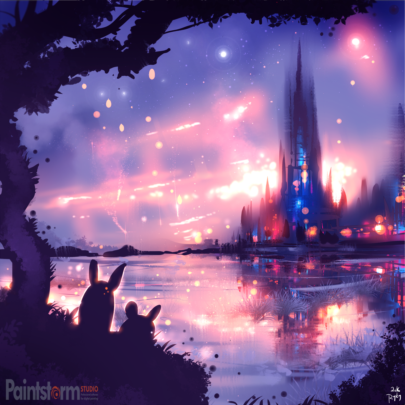 night city by ryky on deviantart