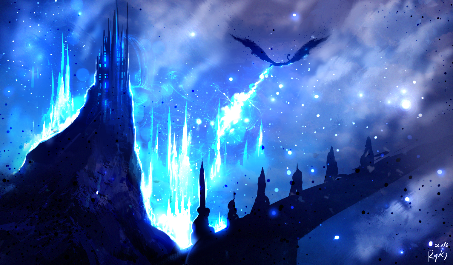 Blue Death by ryky