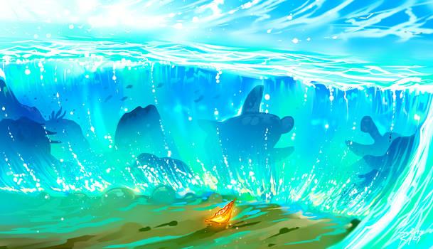 The Ocean Chose Me
